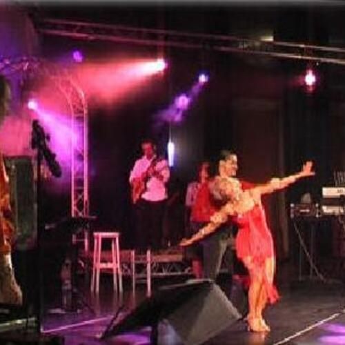 Orchestre - Lacadanse  - Spectacle Cabaret - Latino ...Annee 80