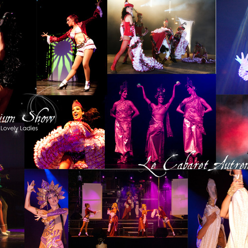Spectacle Cabaret music hall moderne - Avignon - Vaucluse - Lovely Ladies - Revue indienne