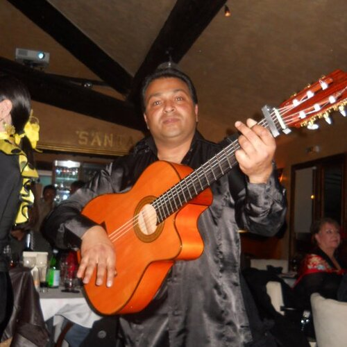 Jimmy Gipsy Musicien de Cagnes / Mer, Antibes
