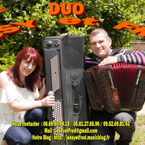 DUO MUSICAL JESSY ET FRED CLAVIER ACCORDEONISTE à ALBI, TOULOUSE