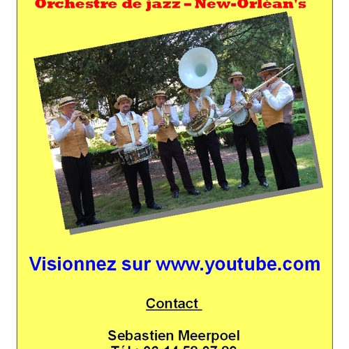 Jazz Band Tourcoing - Roubaix - Lille - Nord - Les KING STOMPERS