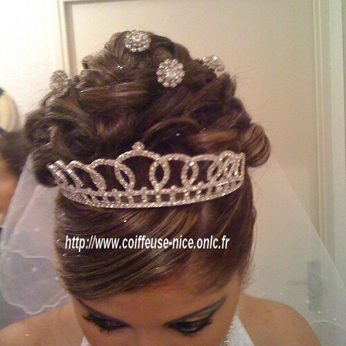 Coiffeuse et maquillage mariage Nice