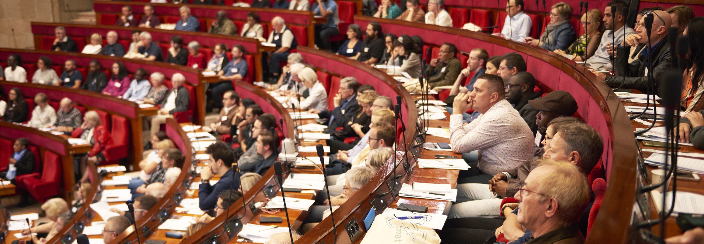 Bannière Convention citoyenne pour le climat