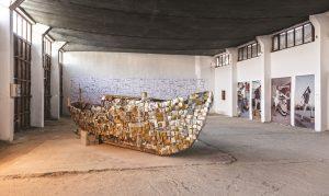 3. Çanakkale Bienali, Otogar Depo, Kalliopi Lemos, Serhat Kiraz, Jakob Gautel, 2012