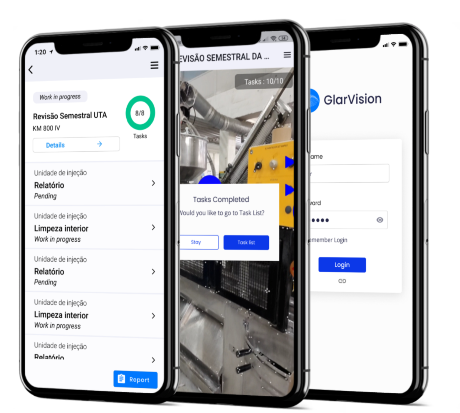 GlarVision: A new reality for an Augmented and Connected worker
