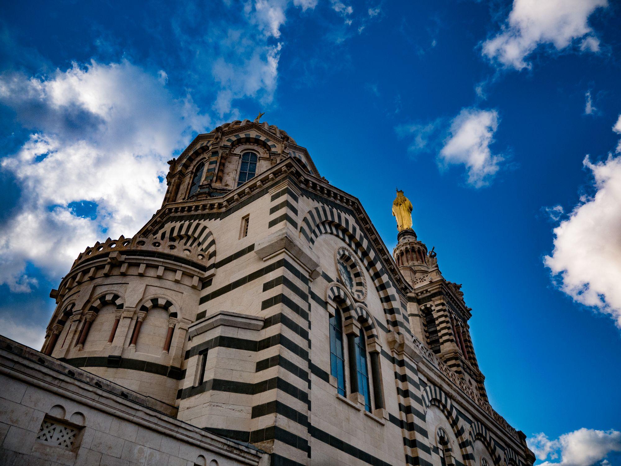 Basilique Notre-Dame-de-la-Garde, Marseille - Marseille, France