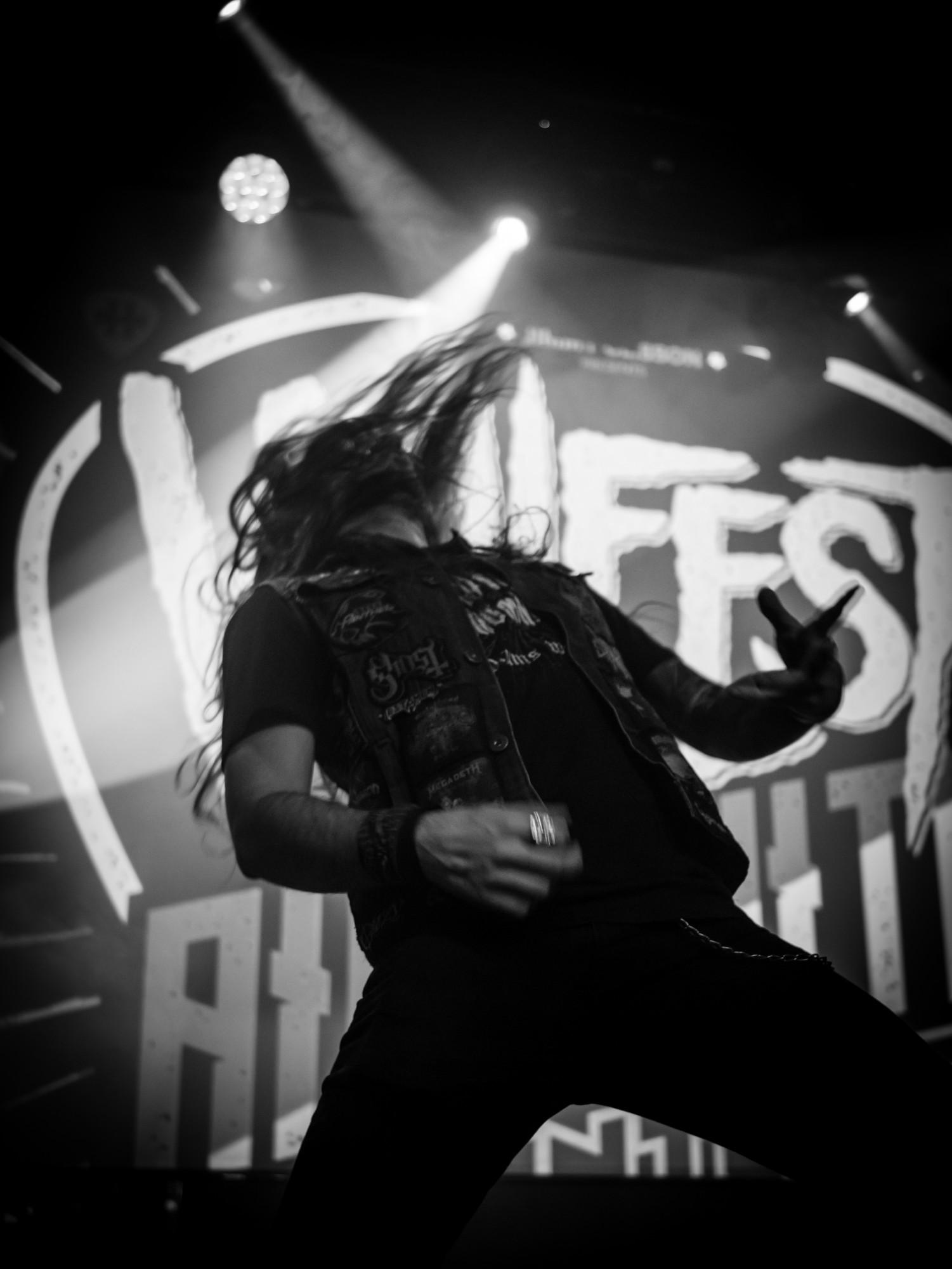 Concours de Air Guitar, Hellfest Warm Up Tour 2k18