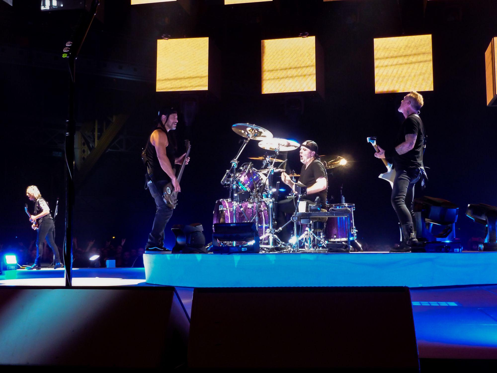 Metallica, Halle Tony Garnier - Metallica, concert  Lyon