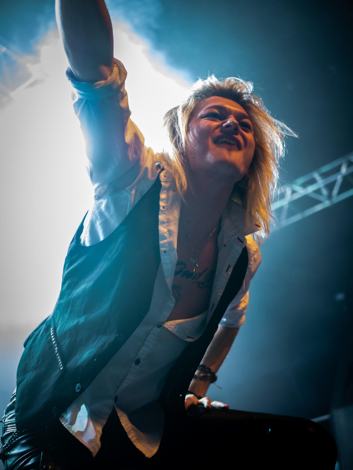 Kissin' Dynamite, concert au Transbordeur