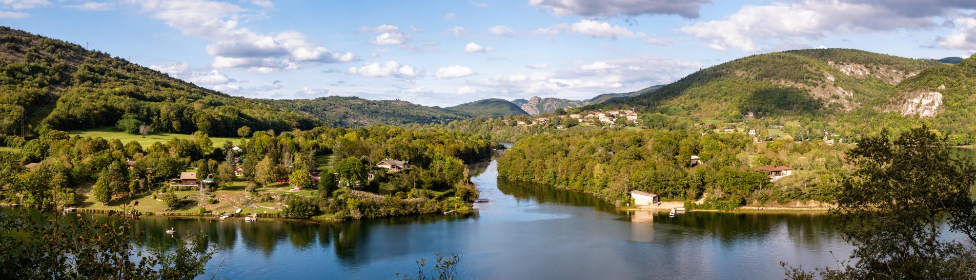 Serrires-sur-Ain - Ain, Rhône-Alpes