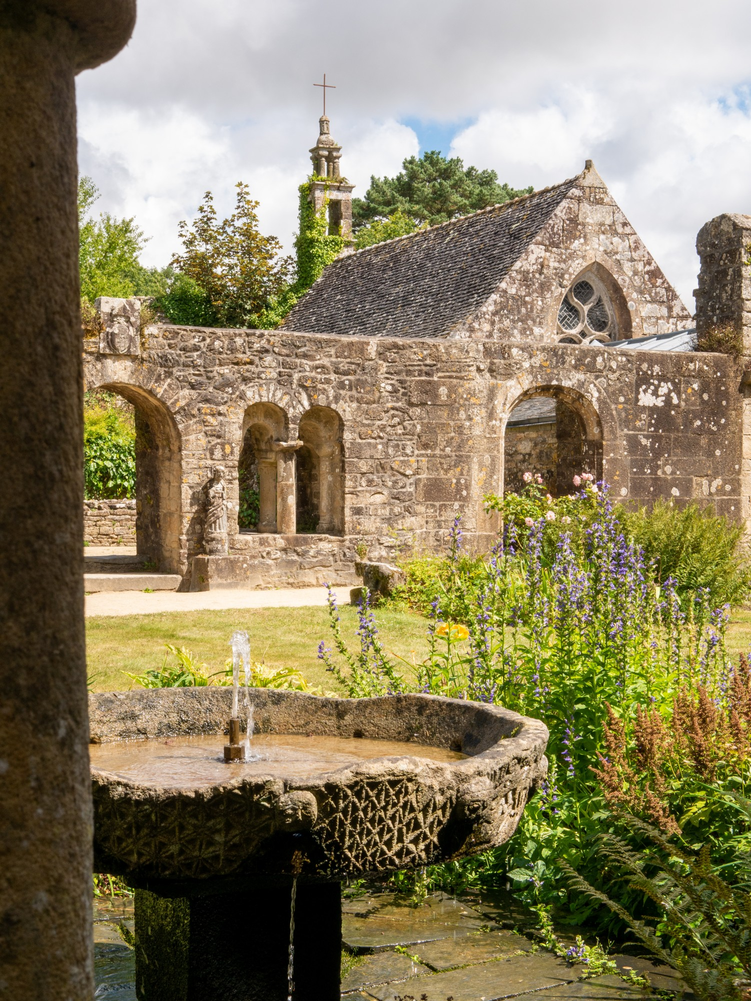 Abbaye de Daoulas - Bretagne, France
