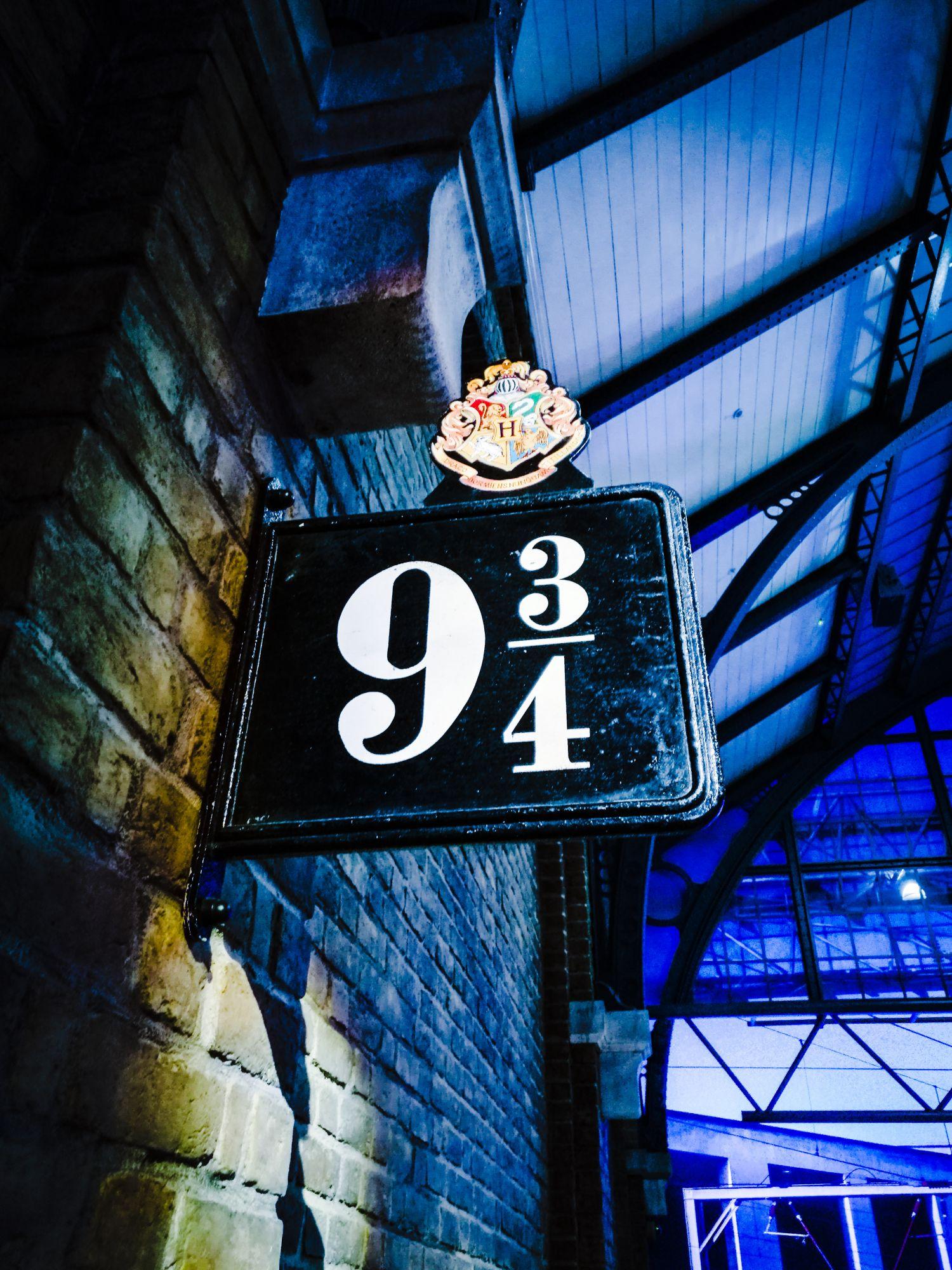 Voie 9, gare de King's Cross, Londres - Studios Harry Potter  Londres