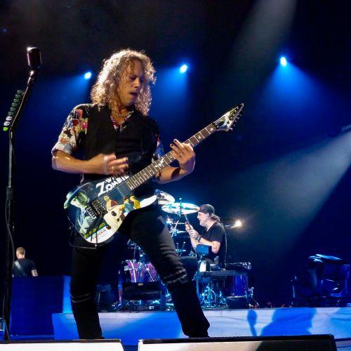 Metallica, Kirk Hammett - Metallica, concert  Lyon