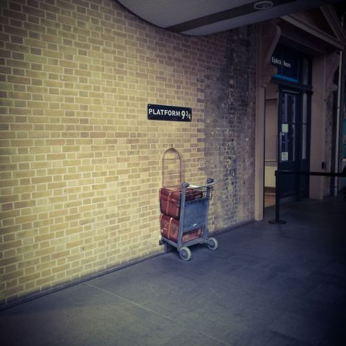 Voie 9, gare de King's Cross, Londres - Studios Harry Potter  Londres