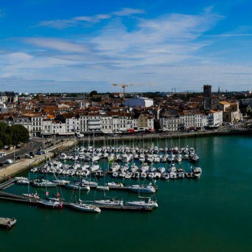 La Rochelle vue de la Tour Saint-Nicolas, La Rochelle - Vacances d'été à La Rochelle