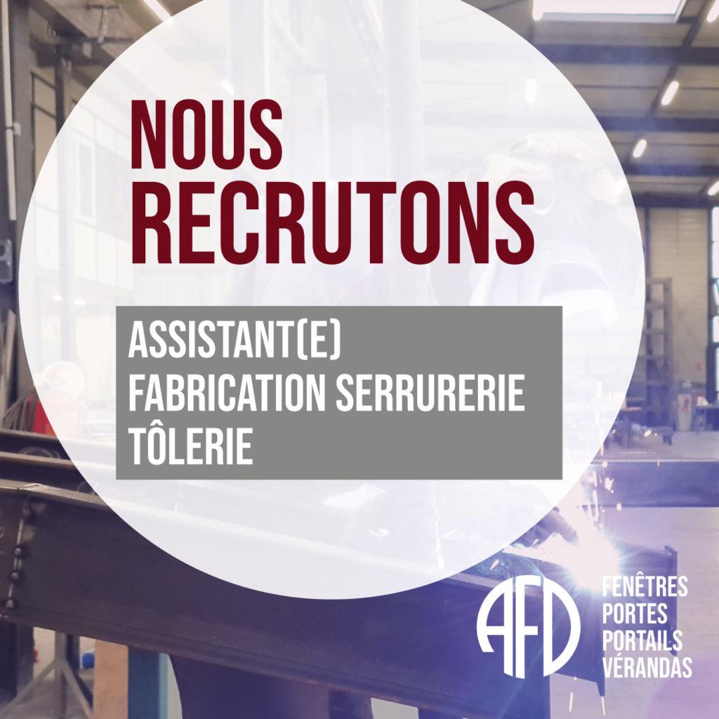 Assistant(e) Fabrication