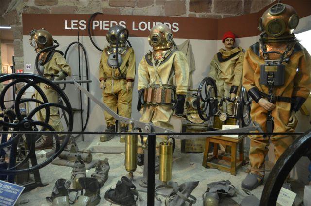 Musée du Scaphandre - camping Bellerive