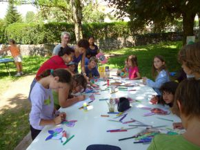Venez fêter les enfants au camping Bellerive à St Côme d'Olt