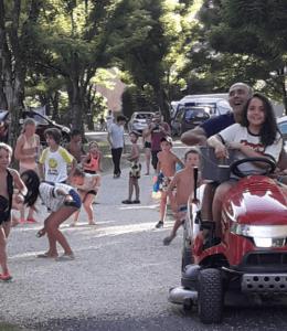 La fête des enfants au camping Bellerive
