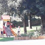 Aire de jeux à St Côme d'Olt