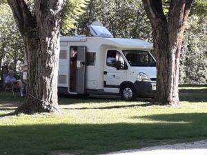 Camping car à St Côme d'Olt