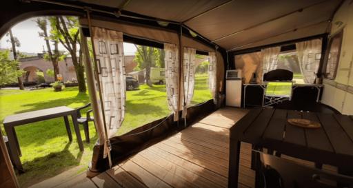 Caravane à St Côme d'Olt