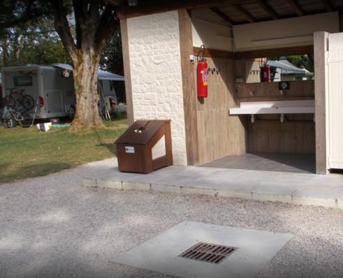 Zone vidange WC à St Côme d'Olt