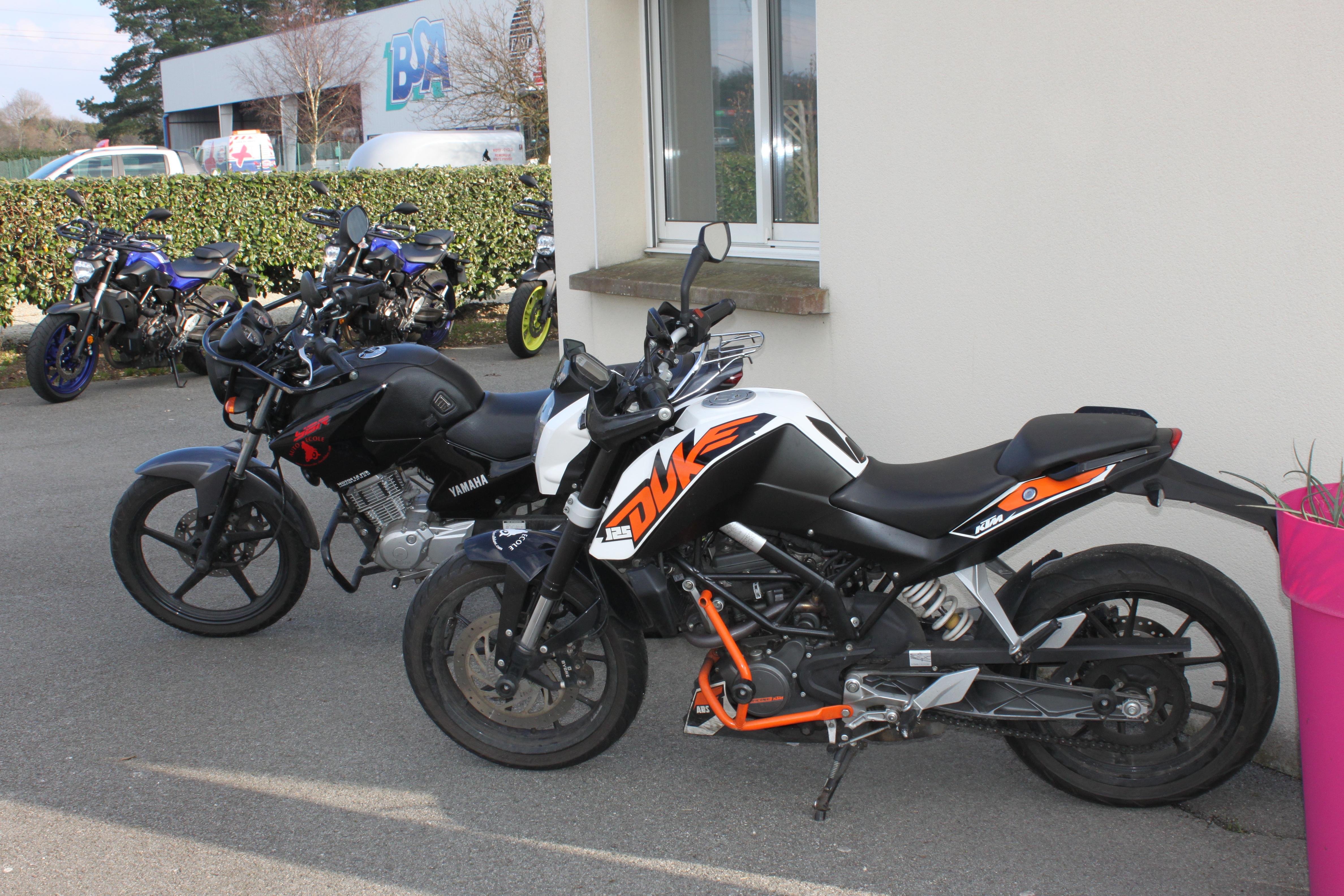 permis motos à Lanester