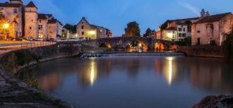 Nerac, le pont vieux-Thierry Dulau-bandeau