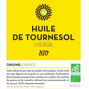 HUILE DE TOURNESOL VIERGE