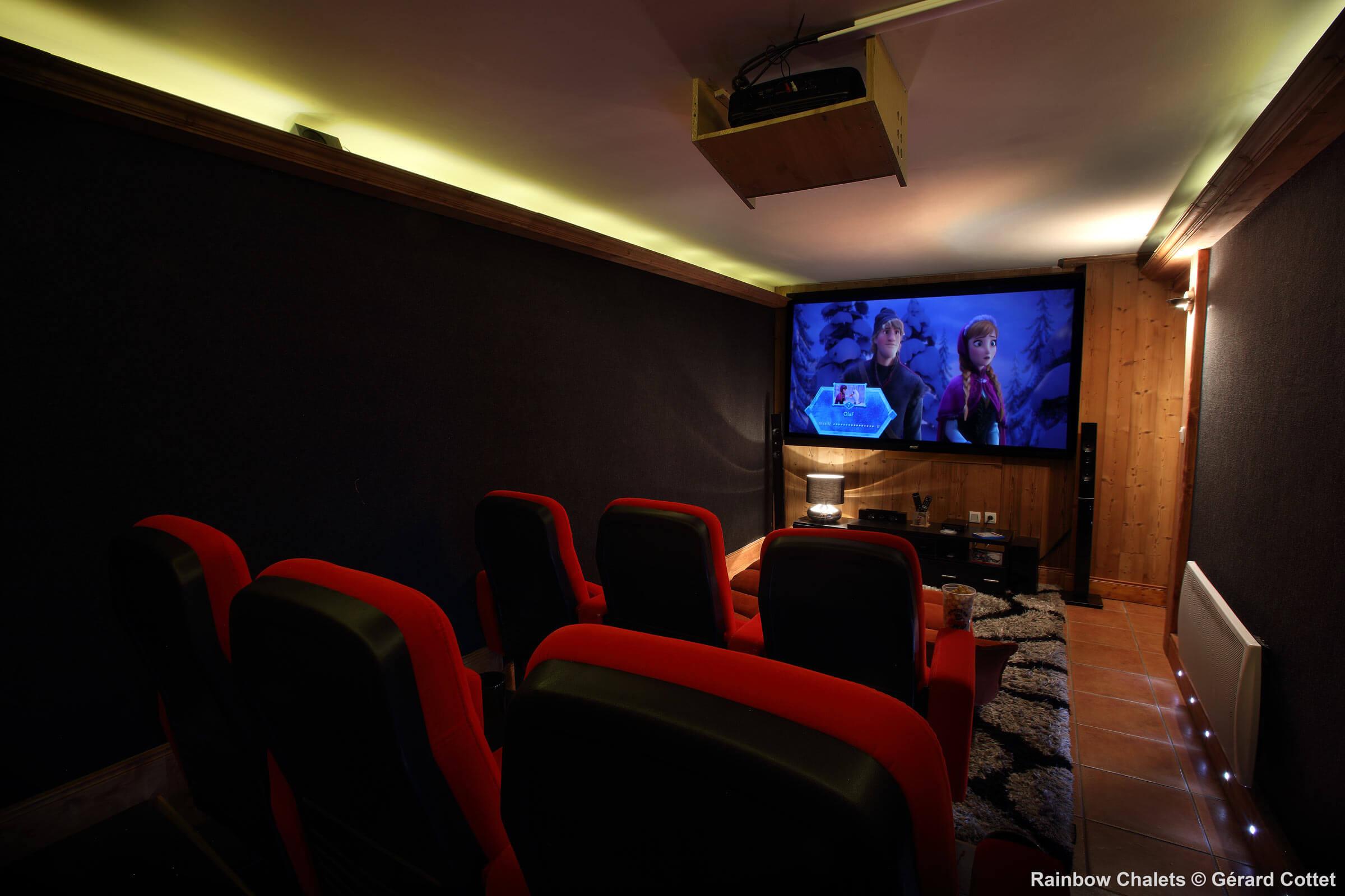 Yellow salle cinéma