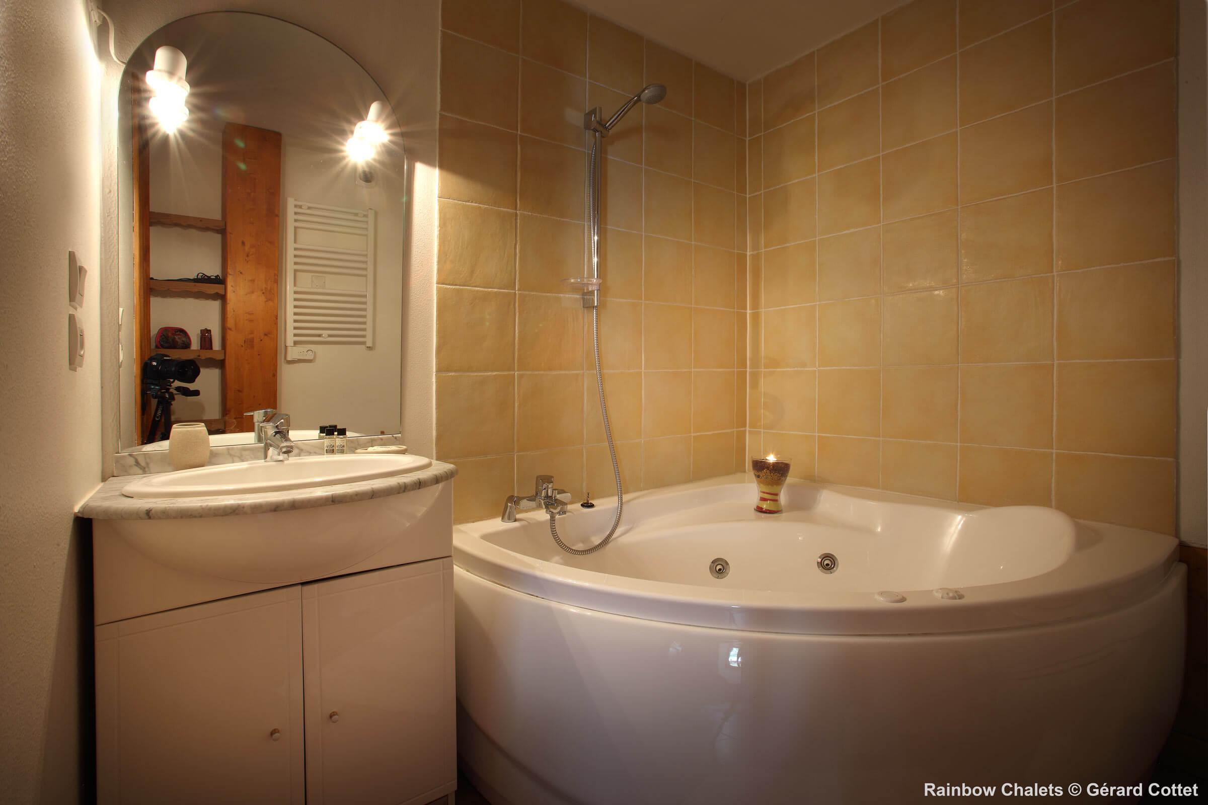 Yellow salle de bain