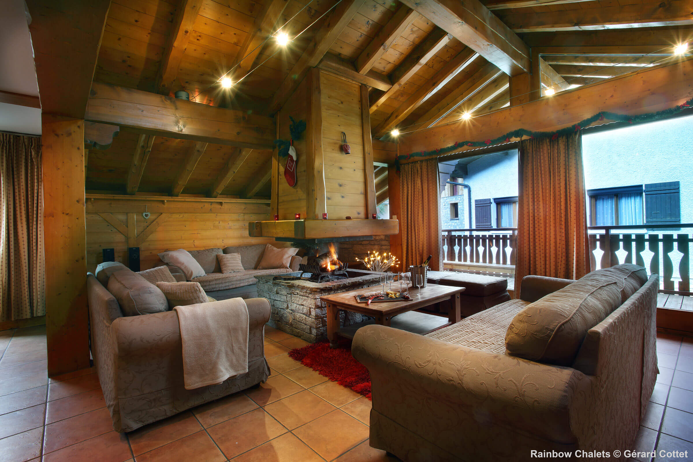 Location chalet Menuires