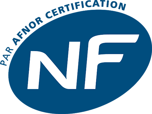 Logo NF (par Afnor Certification)