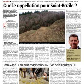 La Montagne - Tulle - 01/02/2017