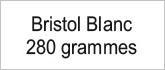 Bristol blanc 280g
