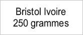 Bristol ivoire 250g