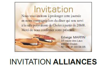 Invitation alliances