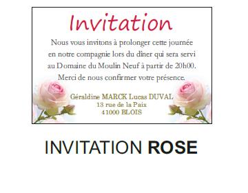 Invitation rose