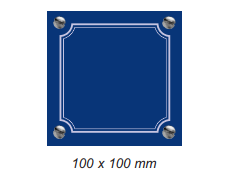 100 x 100 mm