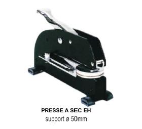 Presse a sec EH support Ø 50mm