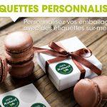 Etiquette autocollantes personnalisées
