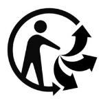 Logo Triman obligatoire présent sur les flyers publicitaires
