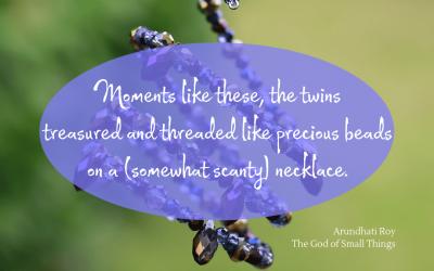 Treasured, threaded moments