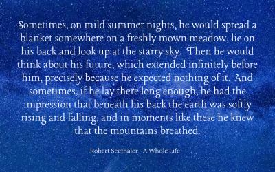 Of sleep, sky and an infinite future