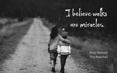 Walks as miracles