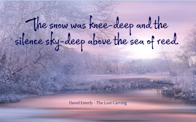 Of knee-deep snow and sky-deep silence